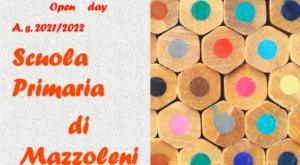 Immagine collegamento al video di presentazione della scuolaprimaria di Mazzoleni