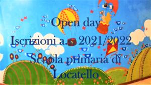 Icona collegamento al video di presentazione della scuola primaria di Locatello